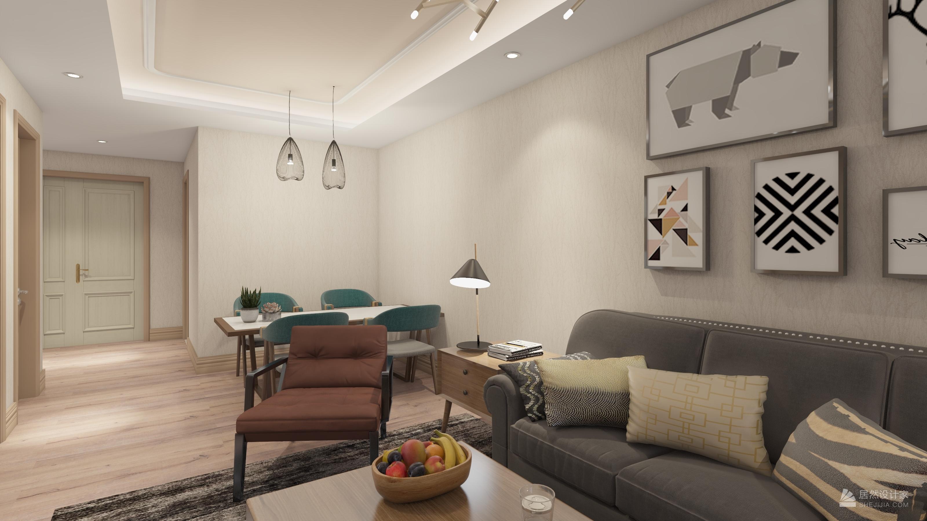 炫和-居然設計家-室內設計_家裝設計師案例_室內裝修