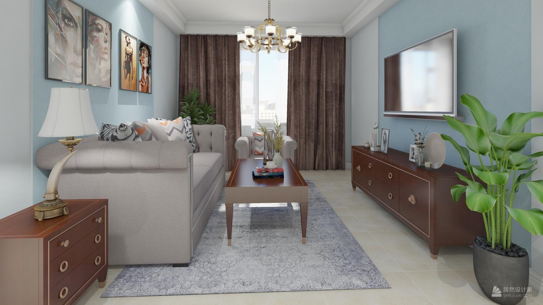 其它风格两室null装修设计图