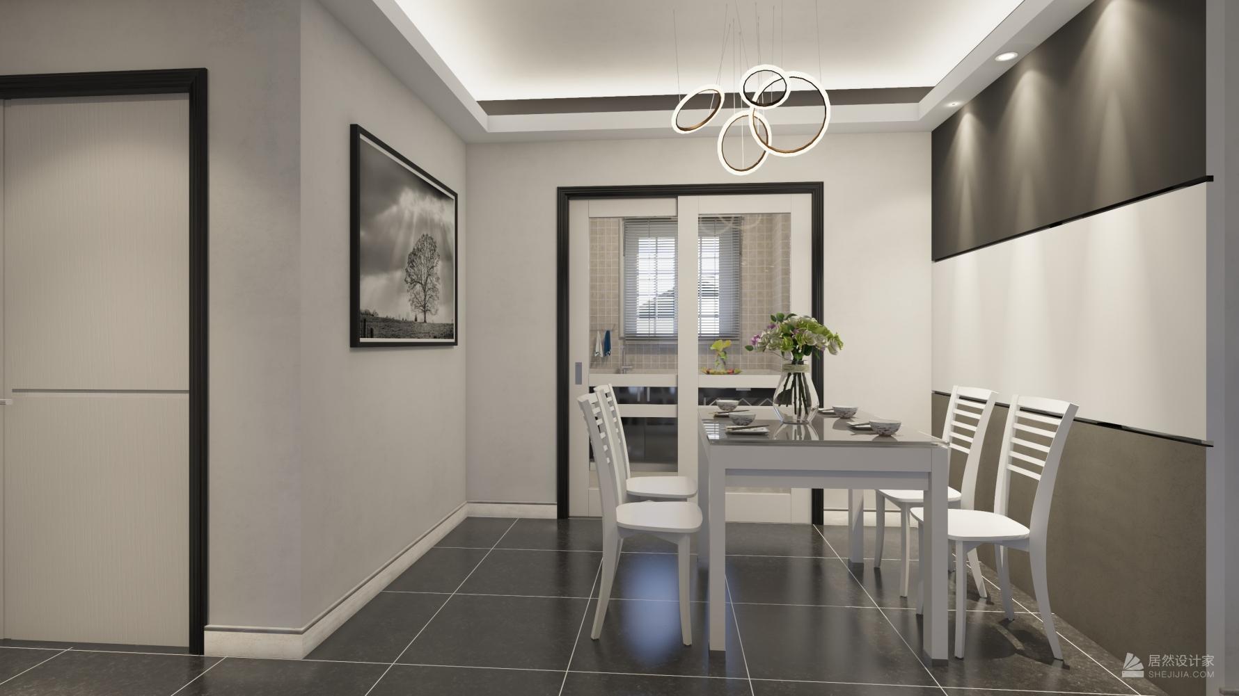 其它风格三室两厅装修设计效果图