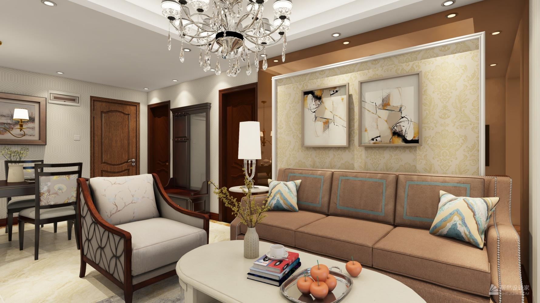 其它风格一室两厅装修设计图