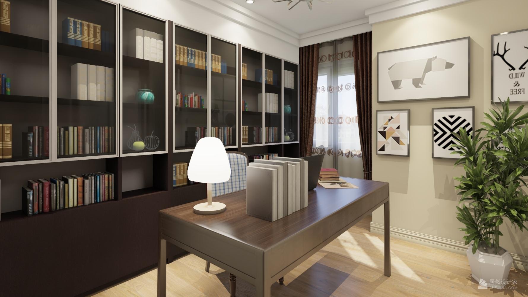 北欧风格四室两厅装修设计图