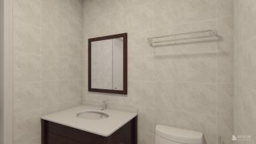 新古典风格一室两厅装修设计效果图