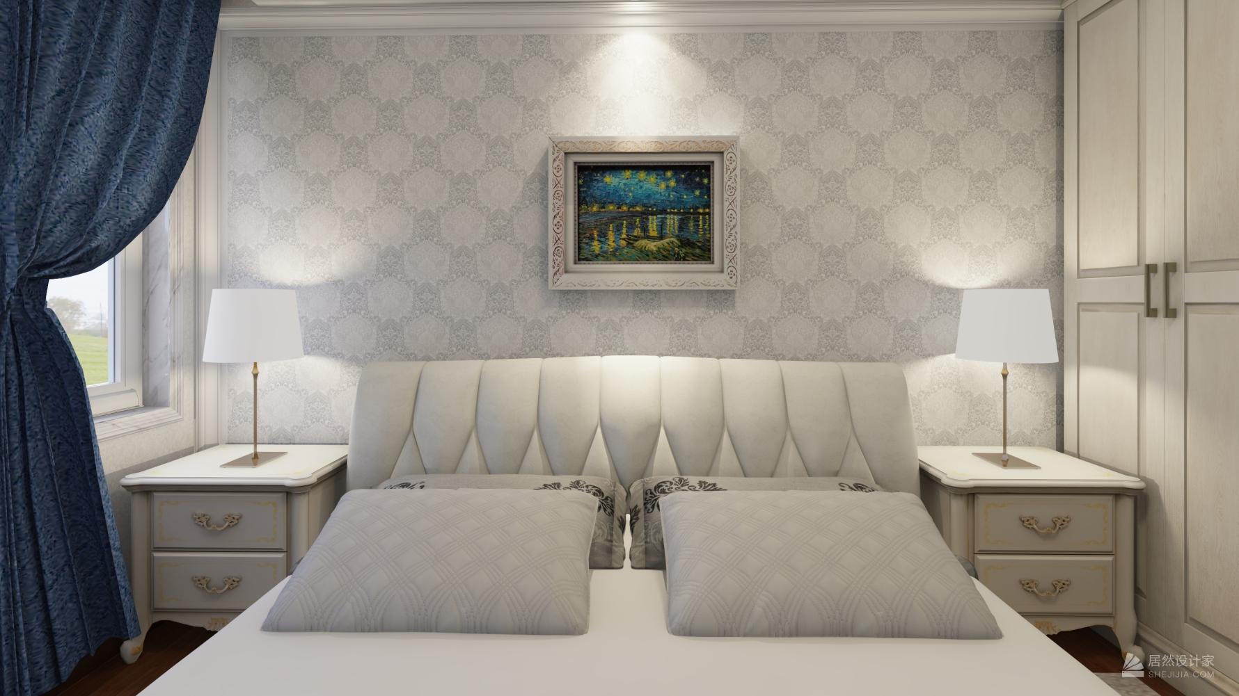 欧式风格两室两厅装修设计图