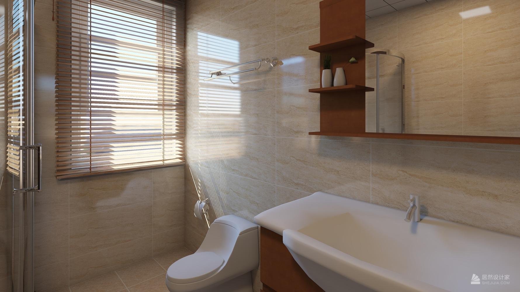 东南亚风格四室两厅装修设计图
