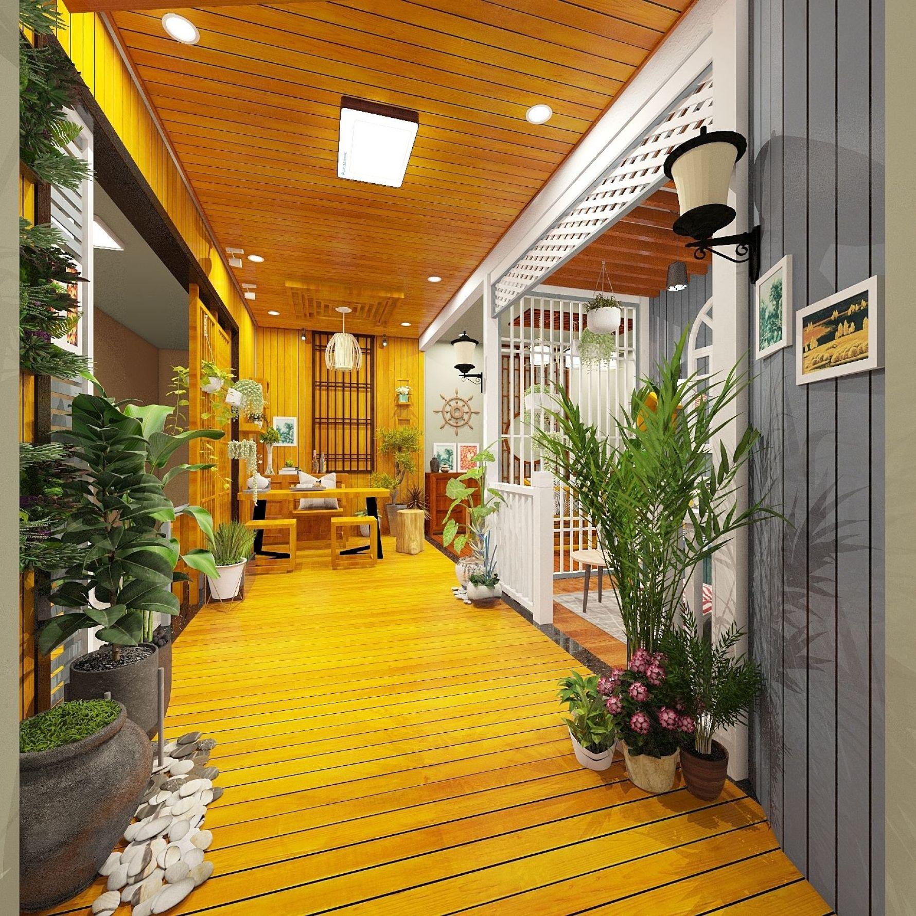 中式风格三室null装修设计图
