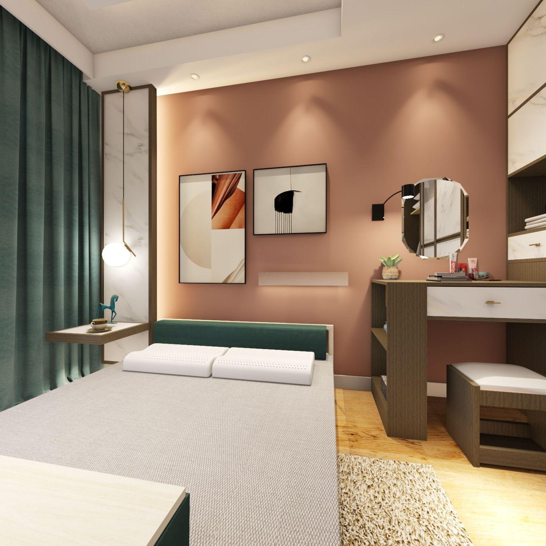 欧式风格一室一厅装修设计效果图