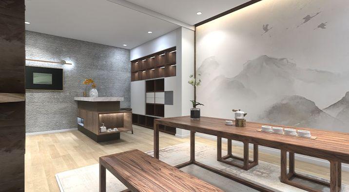 新中式禅意茶室