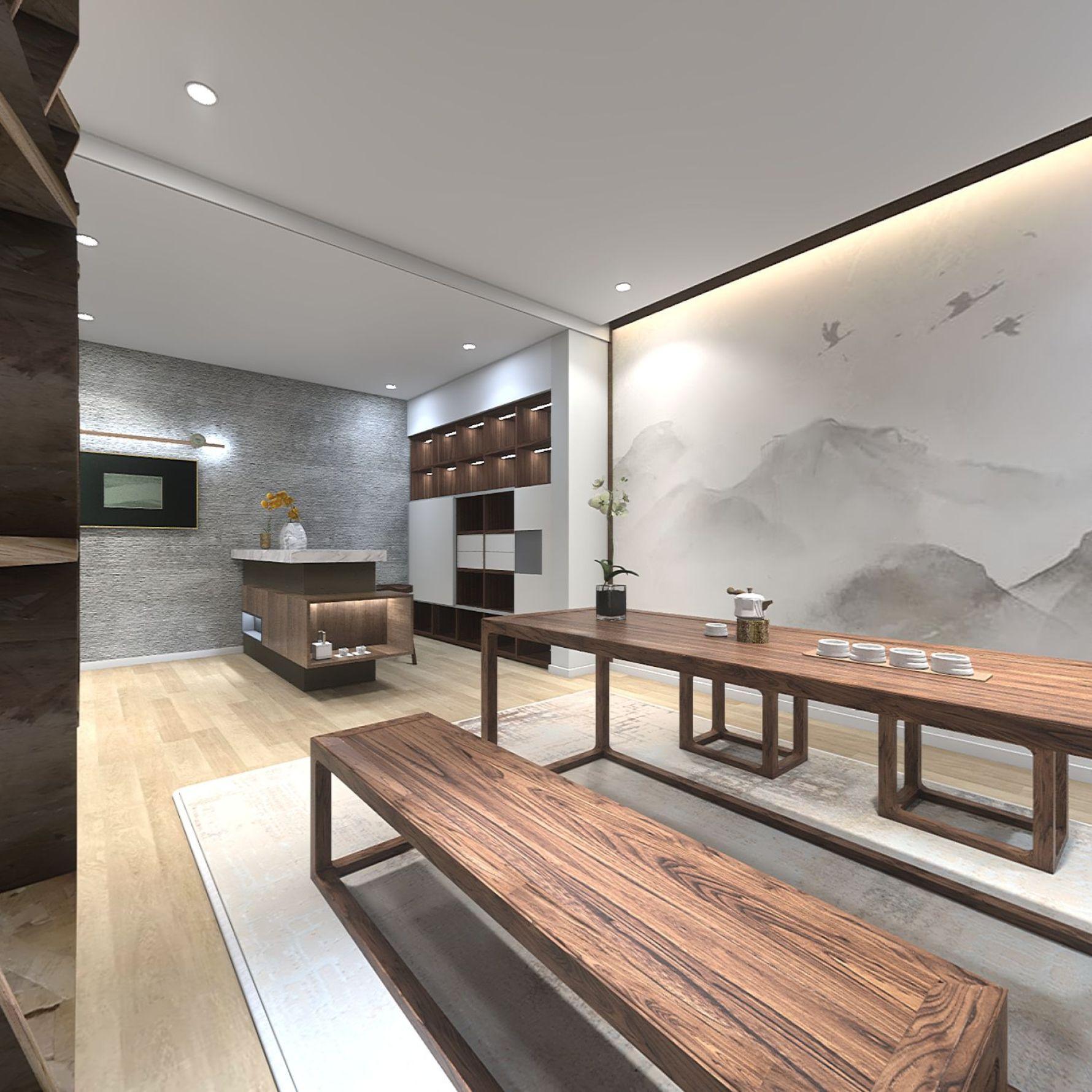 中式风格一室undefined装修设计效果图